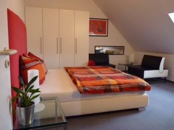 Doppelzimmer-Executive-Ensuite Dusche-Bergblick-Schloss 302