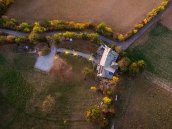 La Fernande vue drone
