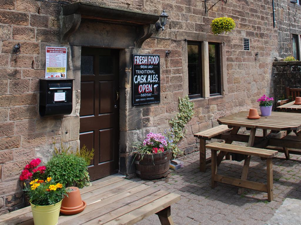 The Jug and Glass front door