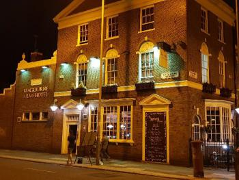 Blackburne Arms Hotel - our lovely Pub
