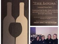 The Local - Fully Licenced Moblie Bar Service