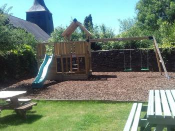 Our new Children's play area