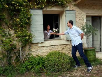 Le romantisme, c'est à La Maison de Line en Provence