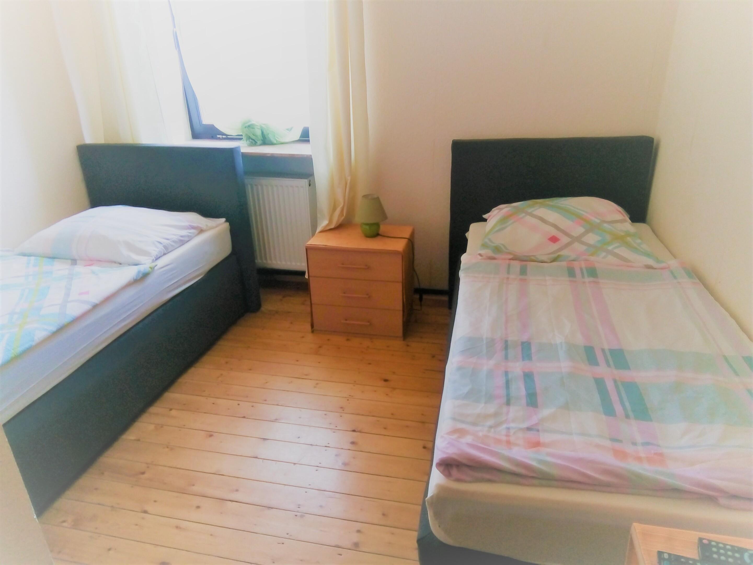 Zweibettzimmer-Standard-Ensuite Dusche