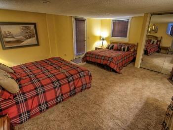 Bedroom on the bottom level