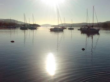 Within walking distance from Lake Windermere