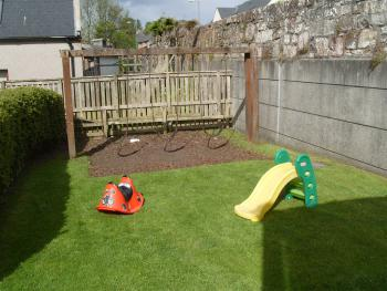 Childrens' outdoor play area