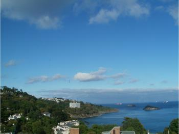 One of the many views from Villa Capri apartments