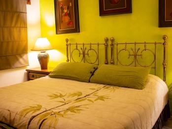 Villa-Junior Suite con salón-Moñar Rangeliano-Baño con ducha-Vista al Jardín