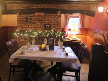 The Snug set for private dining