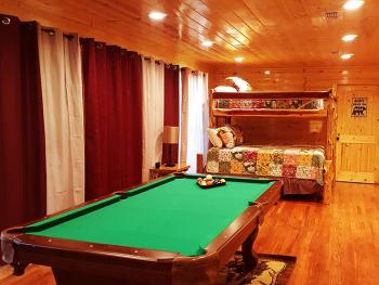 Pool Table in all Cabins