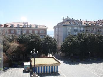 Vista de la Plaza Pombo
