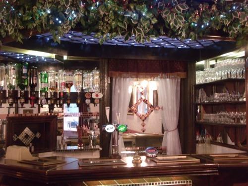 Welcoming Bar Area.