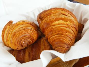 All our bread and pastries are sourced locally