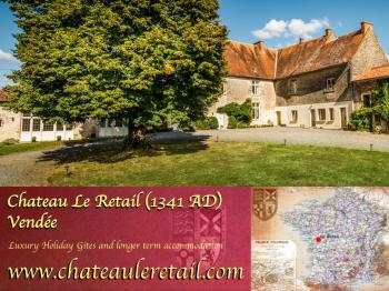 Luxury Gîte / 2 Bedrooms only (King beds)