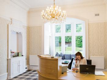 You are assured of a warm welcome at the Balcary House Hotel in Hawick