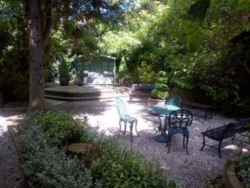 Guests are welcome to enjoy our gardens
