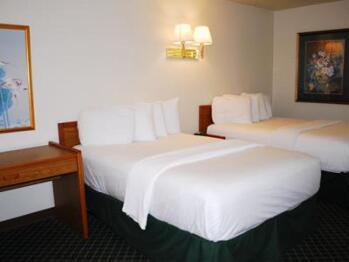 Quad room-Ensuite-Standard-Hotel room 203 - 2 double - Quad room-Ensuite-Standard-Hotel room 203 - 2 double