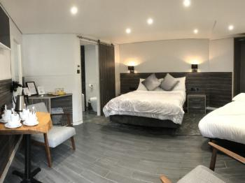 King-Executive-Ensuite with Bath-Courtyard view
