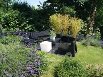 La Villa Quartz, le jardin paysager