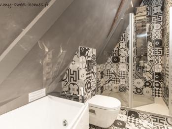 Salle de bain avec spa 1615 Duplex