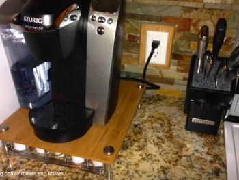 Kitchen Keurig coffee machine