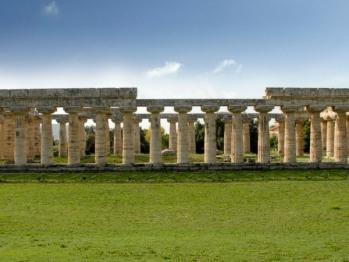 Veduta Templi di Paestum (distanza 40 km)