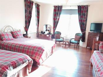 Double room-Deluxe-Ensuite-Mountain View-Tartan Room - Double room-Deluxe-Ensuite-Mountain View-Tartan Room