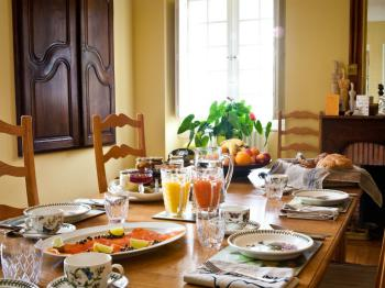 Breakfast in the Manor House