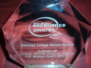 Hospitality Award winners in 2007/08/09/10/11/12