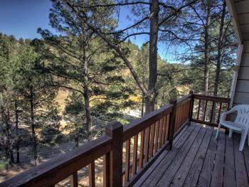 Third floor balcony from the master bedroom