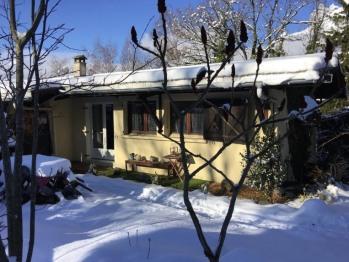 L'hiver, la neige s'installe autour de l'appartement 6 personnes, 2 chambres