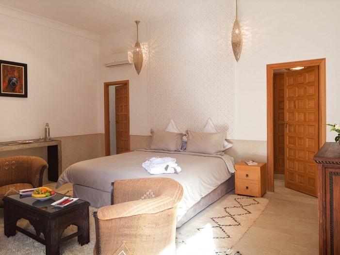 Double ou Twin-Suite-Salle de bain et douche-Patio-1er étage - Santal