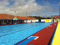 Stonehaven Heated Open Air Pool is unique