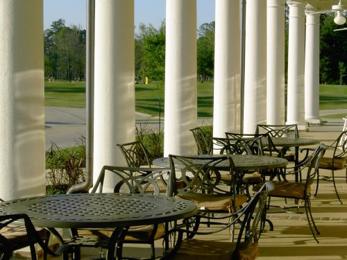 Pavilion Outdoor Seating