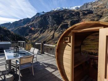 Terrasse jacuzzi sauna