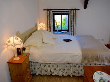 The Bedroom in Hydrangea Cottage