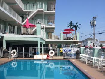 Pool Area with view of 2nd floor sundeck