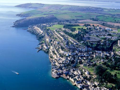 Aerial View of Fowey