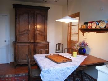 La Villa Vert Bois : la salle à manger