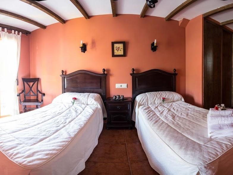 Doble con dos camas-Confortable-Baño Privado
