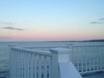 A View From The Deck At The Inn