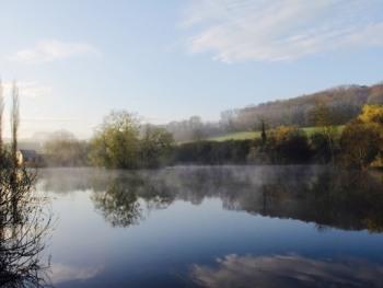l'étang de pêche
