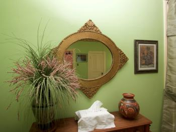 Side Table and Mirror, Animal Room