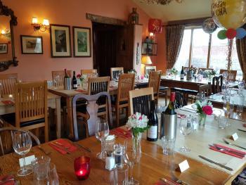 Our restaurant can be exclusively hired for special occasions and can accommodate up to 30 people