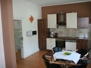 Apartment - Küche mit Essbereich