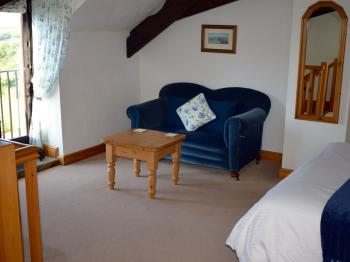 The Seating Area in Clematis Cottage's Bedroom