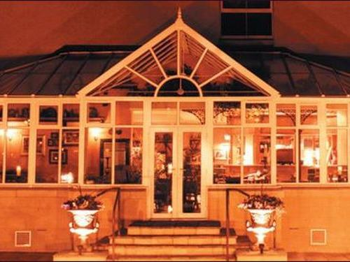 Our Conservatory at night
