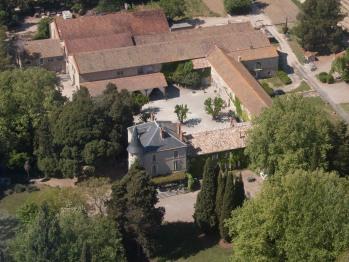 Château Pech-Céleyran Vue aérienne