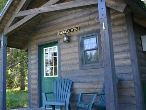 Our cabins have post and beam construction and have a small electric heater inside for the coldest winter nights or if it gets chilly during the summer.